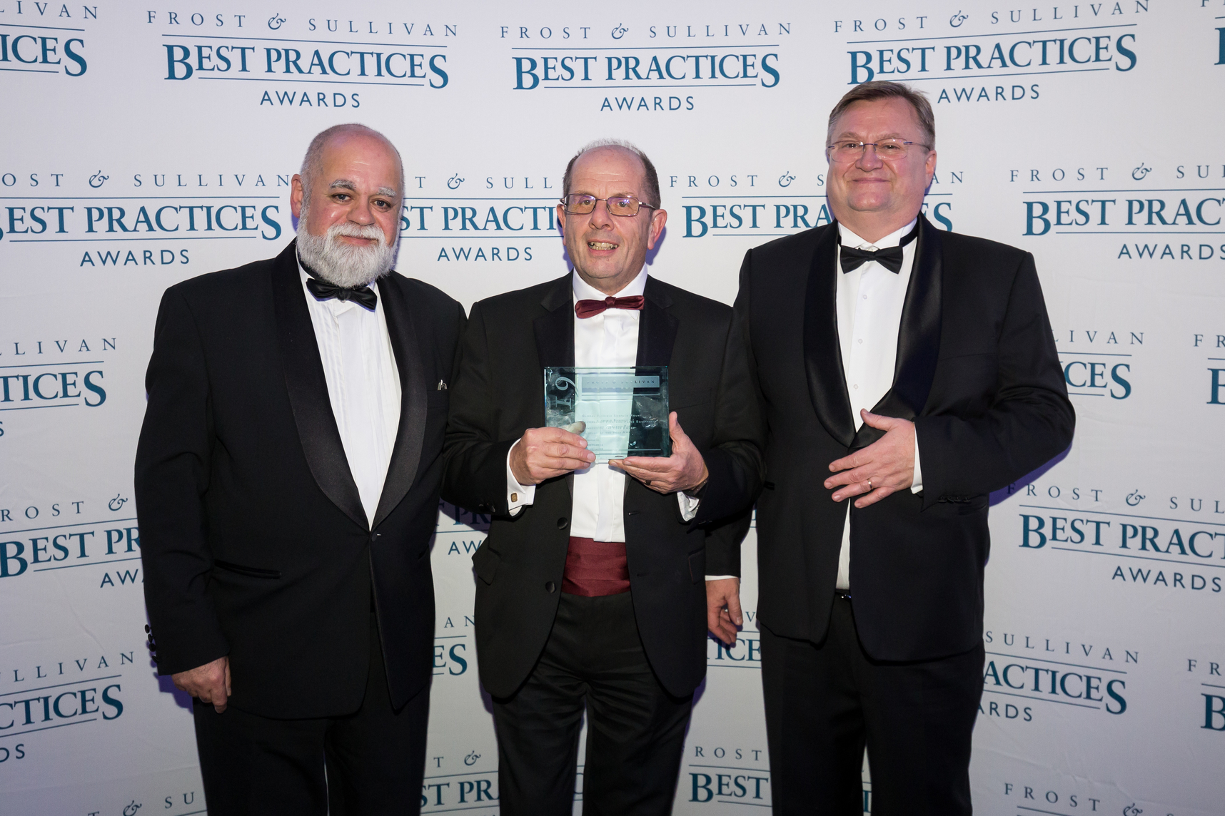 News Robert Conway and Victor Lorenzo receive the F&S Award