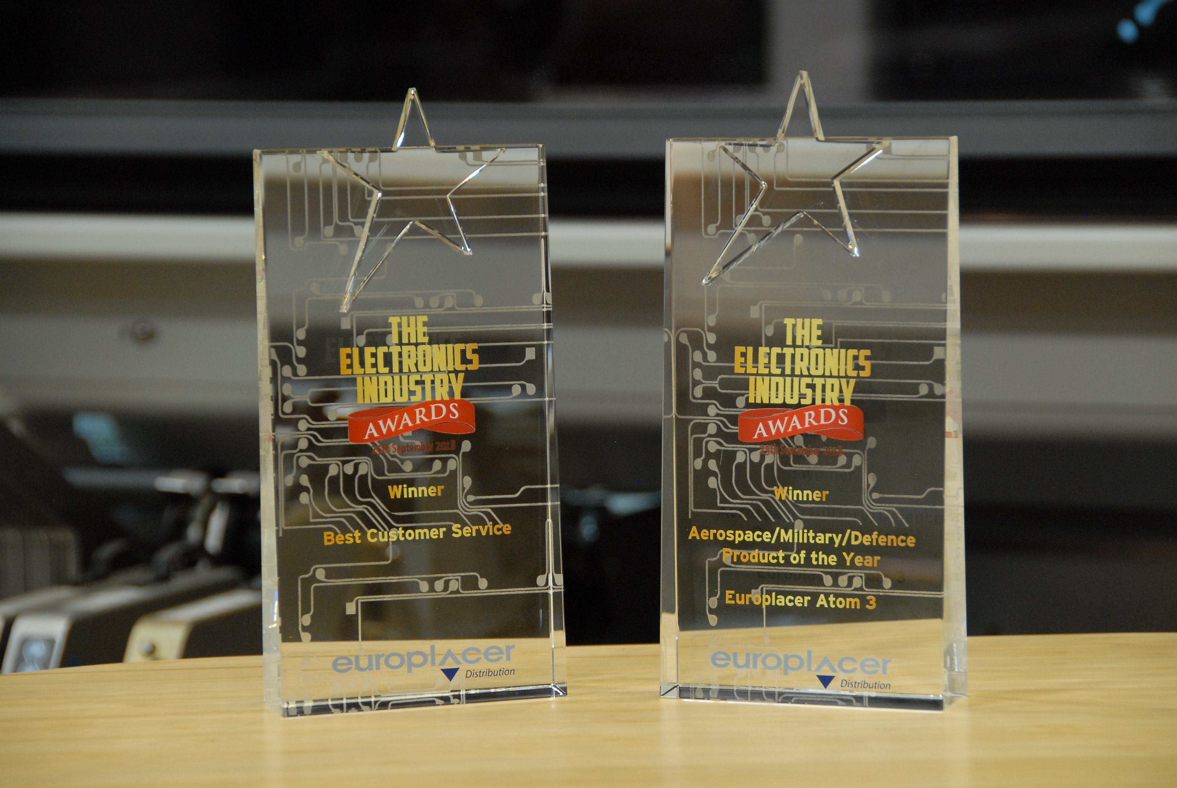 Twin UK Industry Awards for Europlacer Distribution UK